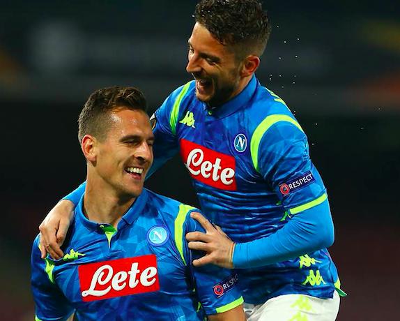 Il Napoli in cerotti perde 3-1 a Salisburgo e va ai quarti di finale di Europa League