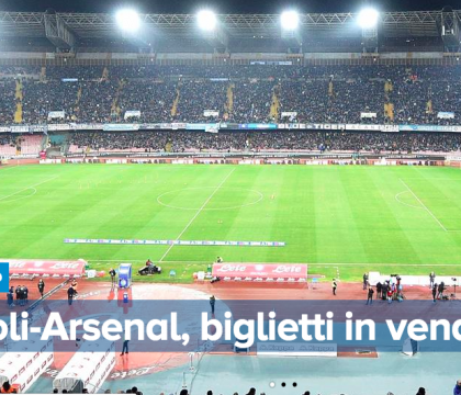 Napoli-Arsenal |  fin qui venduti 37mila biglietti
