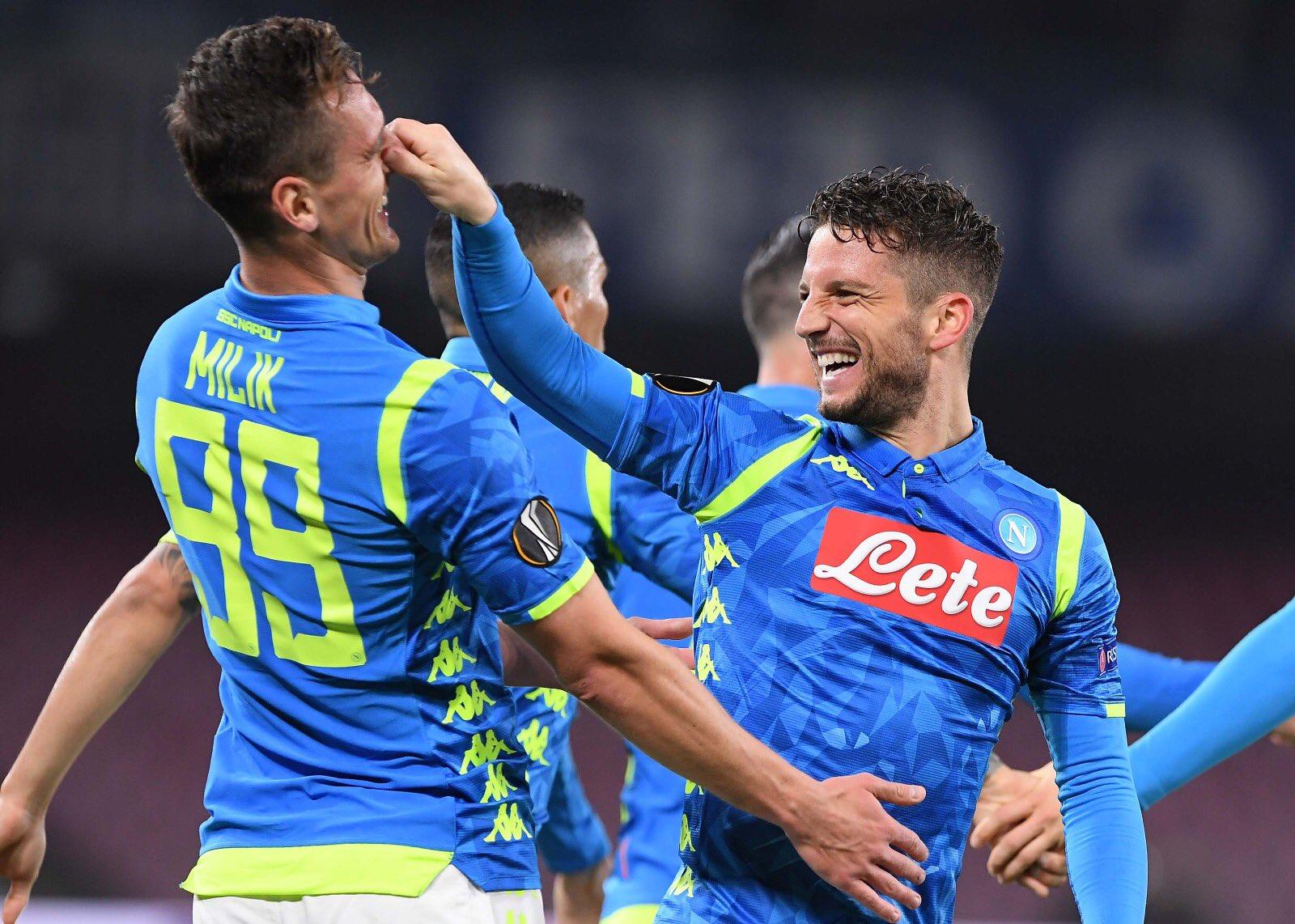 Napoli-Salisburgo 3-0, per Corriere e Gazzetta quarti in cassaforte