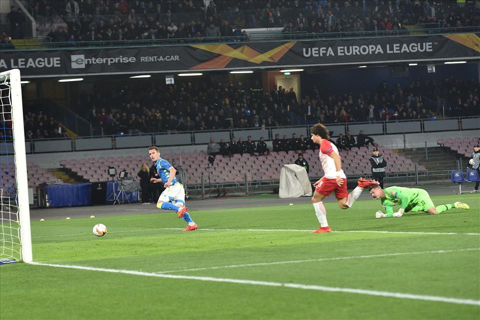 VIDEO – Napoli-Salisburgo 3-0, i gol e gli highlights