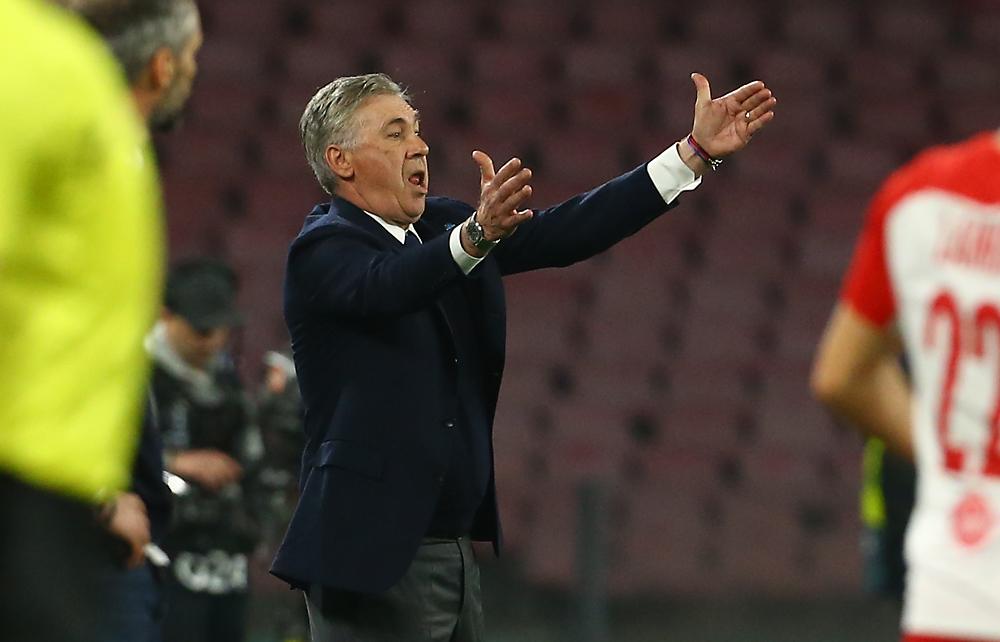 Quanto ci piace l'Ancelotti arrabbiato