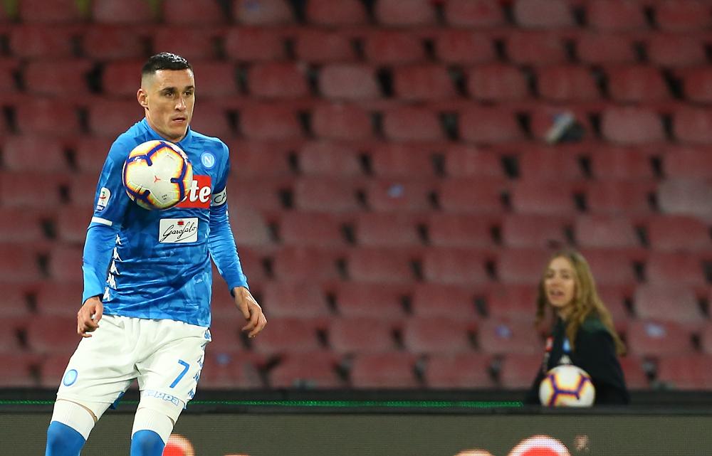 Callejon: «Voglio restare a Napoli, parlerò con De Laurentiis»
