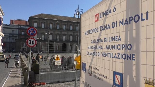 """Il Sole 24 Ore: """"Napoli, la querelle sulle griglie mette a rischio 98 milioni per la linea 6 della metro"""""""