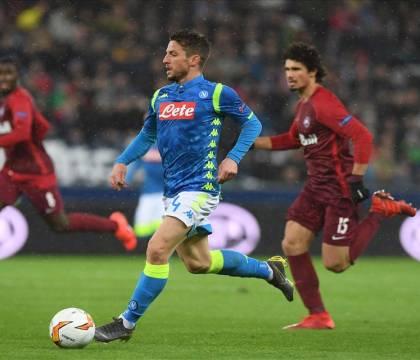 Gazzetta    «Il Napoli ha dimostrato un valore europeo non indifferente»