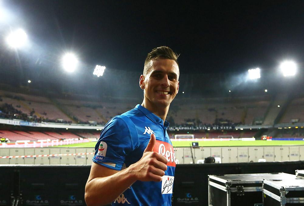 Arsenal-Napoli: Milik, Koulibaly e Insigne sotto i riflettori dei giornali