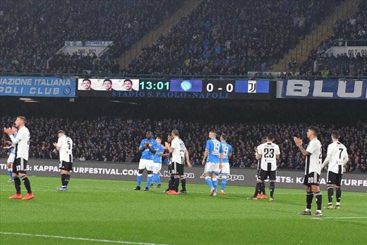 Il Napoli si conferma, anche per le statistiche, l'avversaria più tenace per la Juventus