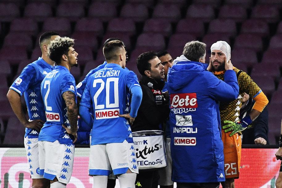 """Repubblica e il caso Ospina: """"non è stata una stagione facile per lo staff medico del Napoli"""""""