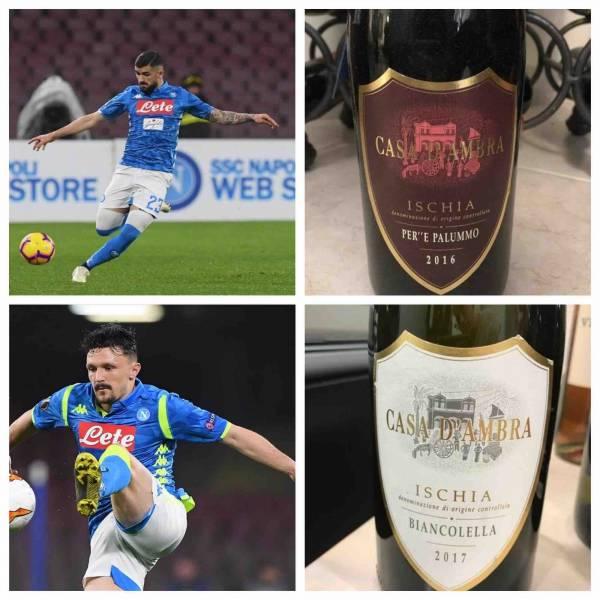 Hysaj e Mario Rui mai sopra le righe eppure efficaci e godibilissimi come i vini di Casa D'Ambra