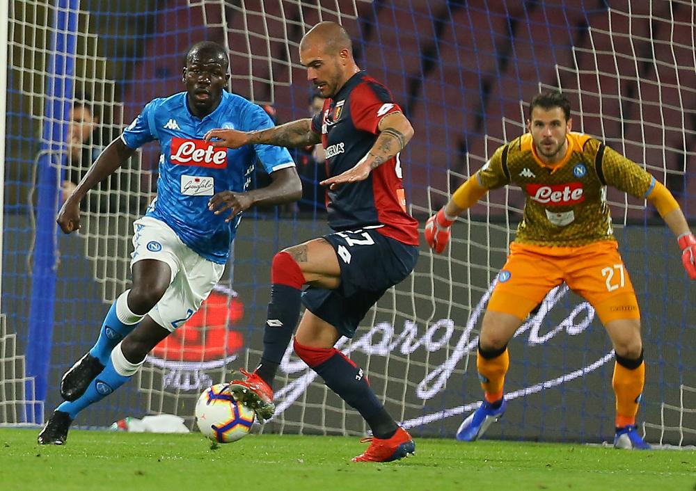 Settimo pareggio stagionale per gli azzurri. Napoli e Genoa non pareggiavano dal 2014