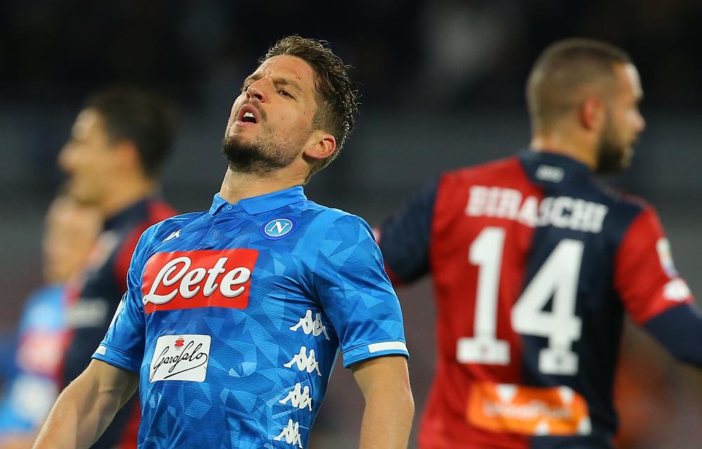 In Europa il Napoli di De Laurentiis non ha mai passato il turno dopo aver perso la partita di andata