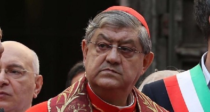 """Sul Mattino l'attacco del cardinale Sepe : """"Napoli è dolente, la borghesia non resti più zitta"""""""