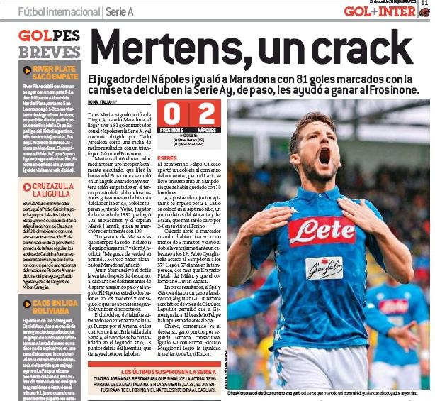 Il record di Mertens sulla stampa estera. Koulibaly gioiello del Napoli