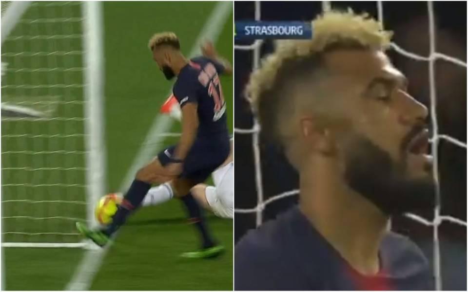 Choupo-Moting entra nella storia del calcio: salva sulla linea un gol del suo Psg