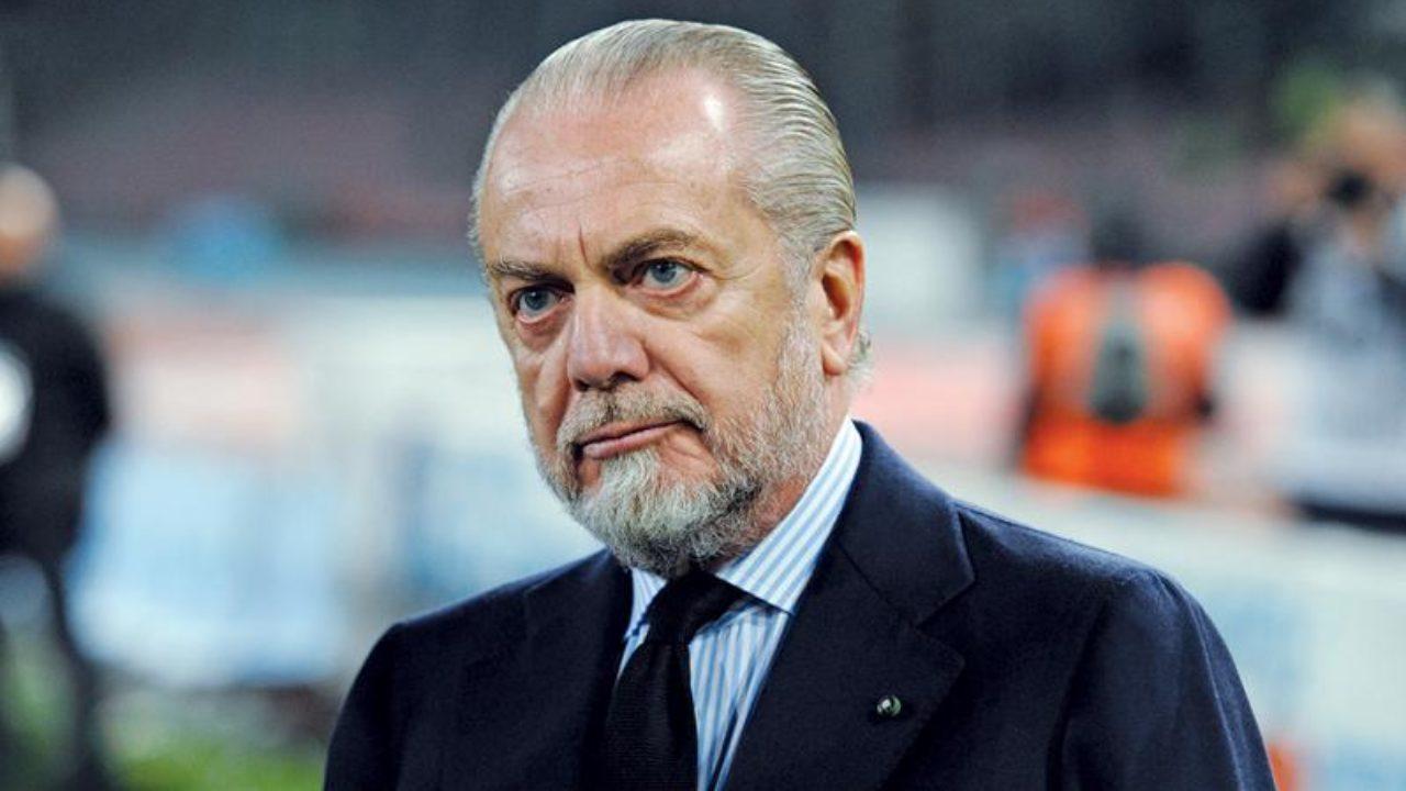 """De Laurentiis: """"All'UEFA non sanno fare impresa, non capisco perché giocare a Barcellona"""""""