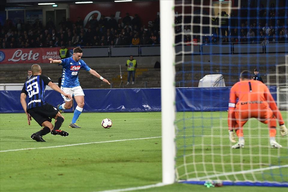 Il Napoli non aveva mai battuto l'Inter 4 -1 in casa