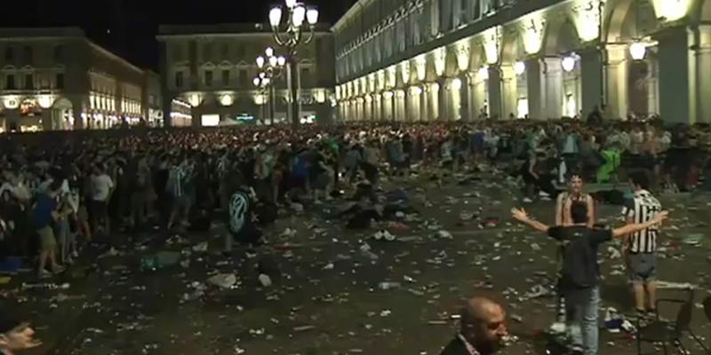 Quattro condanne per la tragica notte di Piazza San Carlo a Torino