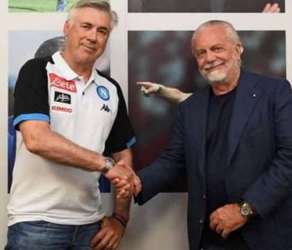 """Marca: """"De Laurentiis non ha perdonato ad Ancelotti i cinque"""