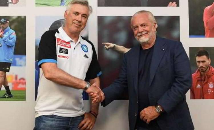 Il Fatto sul contratto di Ancelotti: il Napoli gli controlla i social