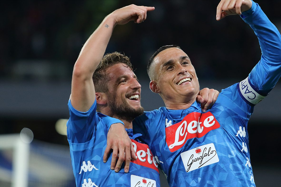 Sky: il Napoli vuole trattenere Mertens e Callejon, disposto a uno sforzo economico
