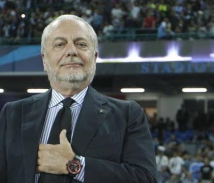 De Laurentiis ha detto che il Napoli cerca un attaccante da