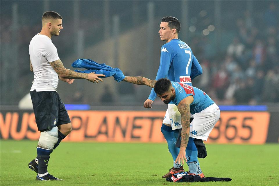 Icardi e Insigne: analogie e differenze con l'incognita di mercato