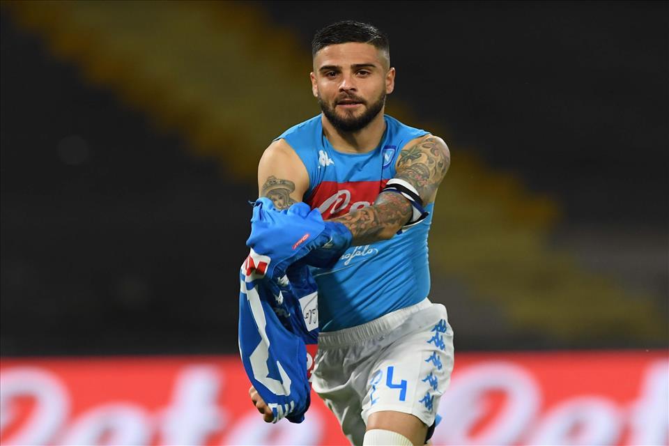 Formazioni Napoli-Inter, Insigne in panchina. Fuori anche Mario Rui e Hysaj