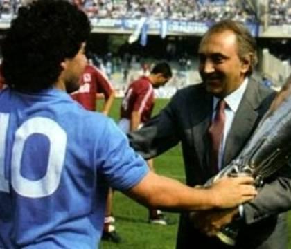 Ferlaino contro il film di Kapadia su Maradona: «Napoli non