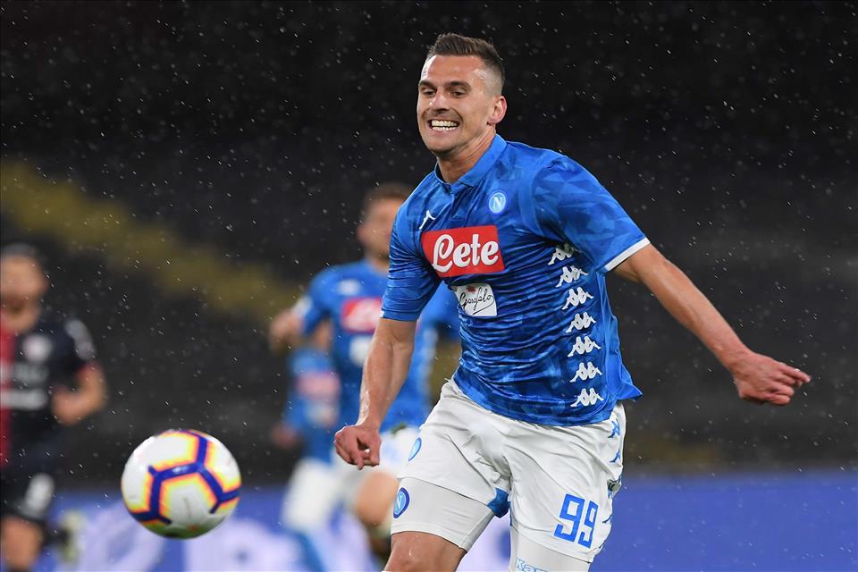 Report allenamento Napoli, Milik ancora in palestra