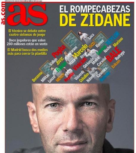 As: «Fabian Ruiz tra le ipotesi di Zidane per il Real»