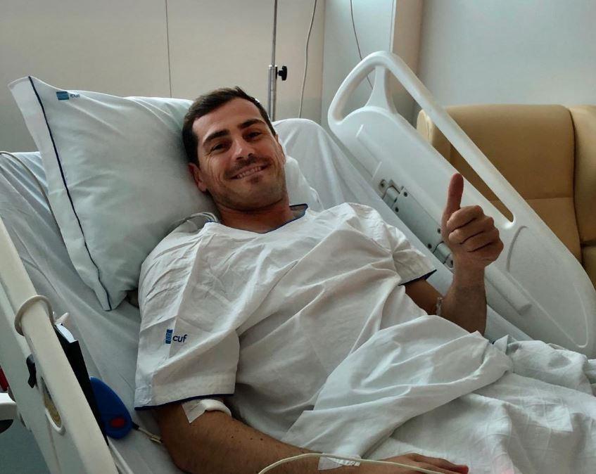 """Casillas: """"Dopo l'infarto ho vissuto nella paura, se uscivo mi sentivo di affogare"""""""
