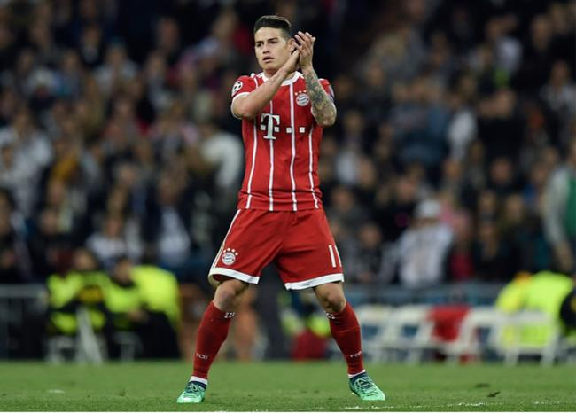 VIDEO – James Rodriguez scatenato fa un tunnel a Messi