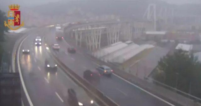 Ponte Morandi: il pm nega il video del crollo ai legali di Autostrade