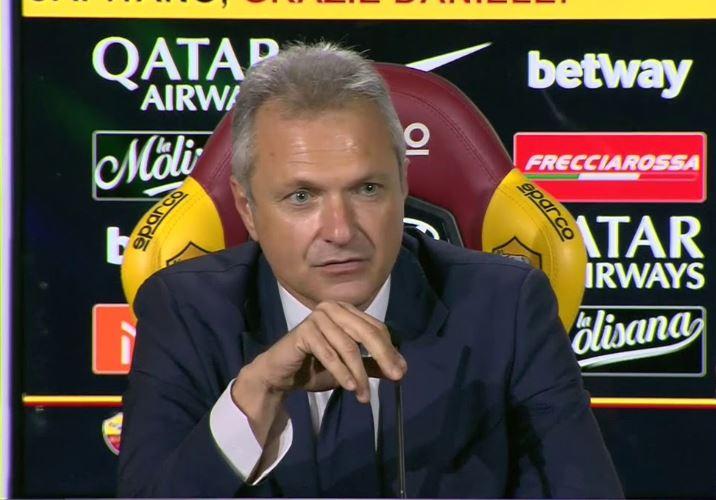 """Fienga: """"Fonseca non è in discussione, siamo felici che Dzeko sia il nostro capitano"""""""