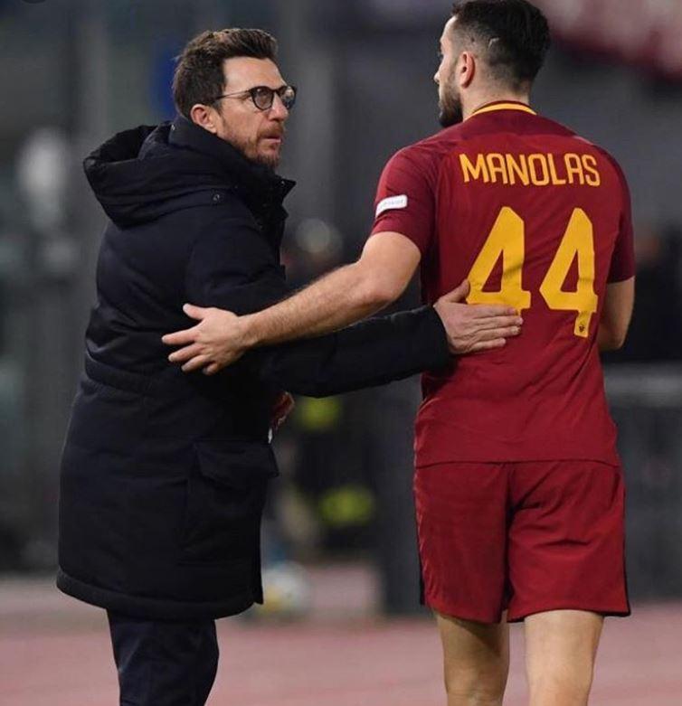 "De Laurentiis: ""Con Manolas c'è un problema caratteriale. Giuntoli dovrà parlarci"""
