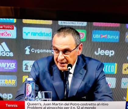 """Sarri: """"Mentre avevo dei dubbi sul percorso al Napoli, la so"""