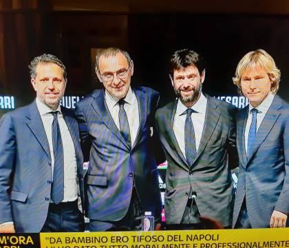 Sarri: «A Napoli ero coinvolto al 110% poi le cose finiscono