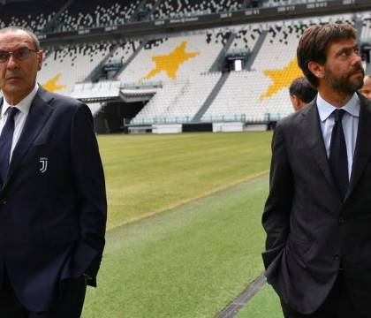 La Stampa: Agnelli non voleva Sarri, lo ha accettato per sal