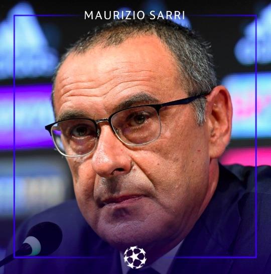 Sarri: «Il capitano è Chiellini, per me il capitano vero è chi ha l'atteggiamento giusto negli spogliatoi»