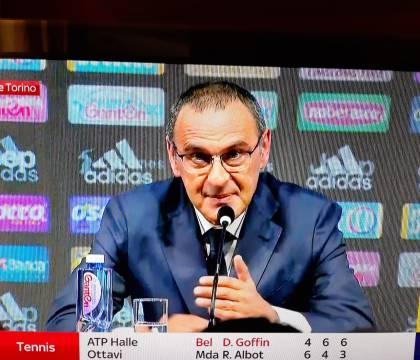 Sarri: «La Juve era il mio nemico solo sul campo quando ero