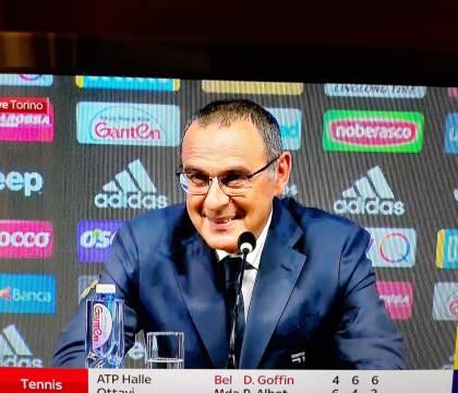 Sarri: «Napoli Juve? Fischi o applausi dei napoletani so che
