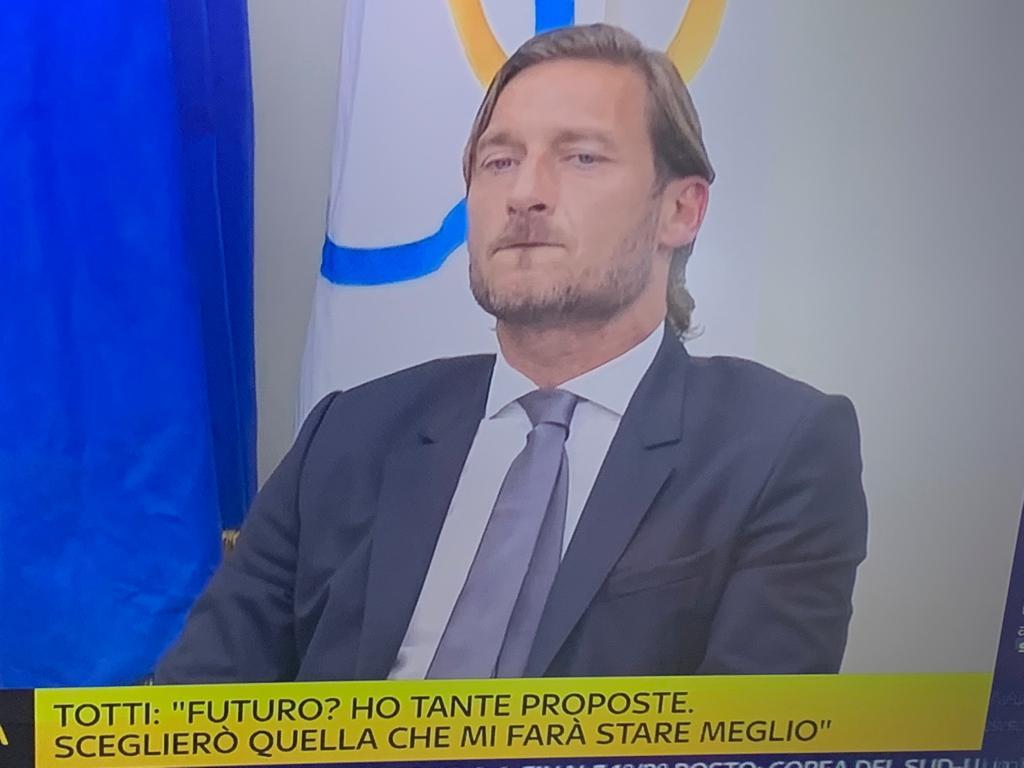 Totti: «Non è stata colpa mia decidere di lasciare la Roma, mi tenevano fuori da tutto»