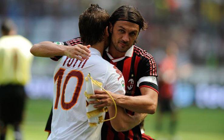 Totti, Maldini: una bandiera come dirigente vuol dire stipendiare Dorian Gray