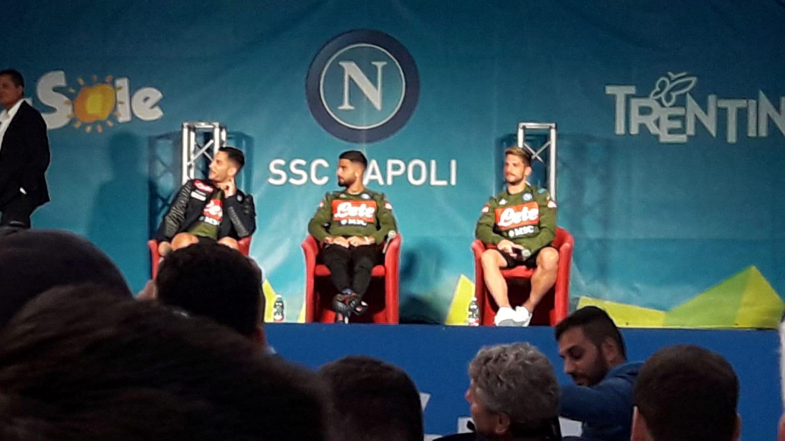 """Manōlas: """"Voglio rifare col Napoli il gol al Barcellona"""". Ancelotti a Insigne: """"Perché ti trovi meglio in Nazionale col modulo?"""""""