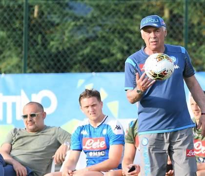 Ancelotti: «Insigne può giocare ovunque. Gaetano? Lo sto ten