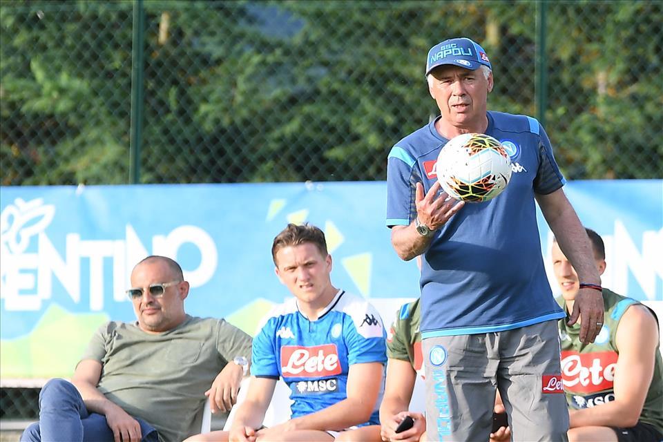 Ancelotti: «Insigne può giocare ovunque. Gaetano? Lo sto tenendo d'occhio»