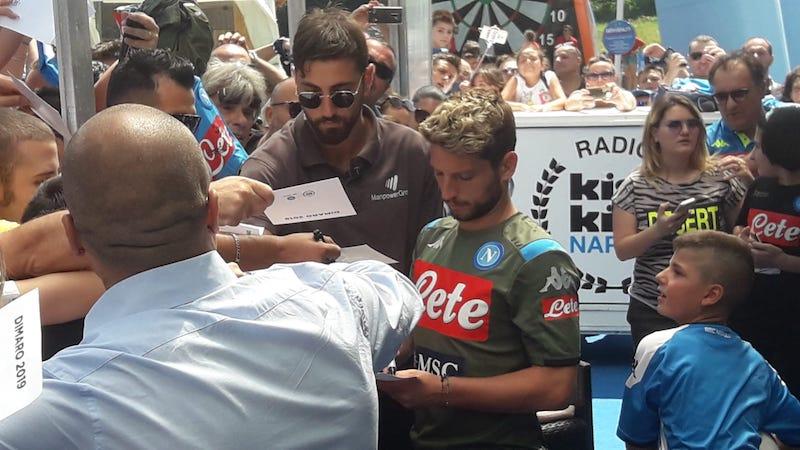 Mertens: «Dobbiamo essere felici di dove siamo col Napoli. Sarri alla Juve? Ora è un avversario»