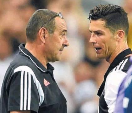 CorSport: ingiustificati i privilegi di Sarri a Ronaldo. CR7