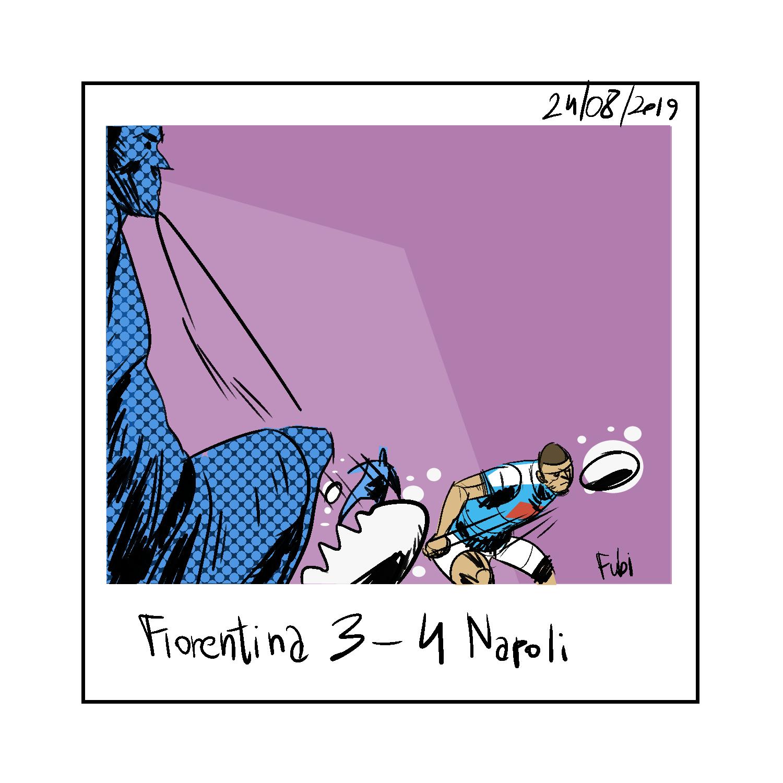 La polaroid di Fiorentina-Napoli 3-4