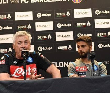 Ancelotti: «non ho visto gli episodi da rigore, ma li ha vis
