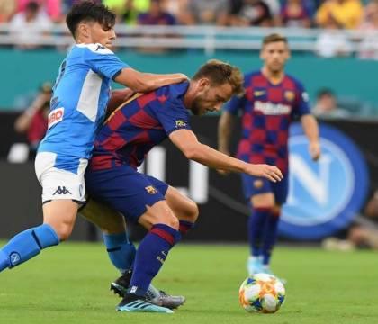 CorSport: il Barcellona ripartirà da Napoli in nottata per e